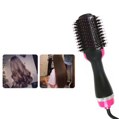 2in1 Blow Dryer Curler Comb Hot Brush