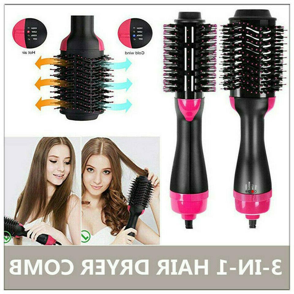 Dryer Curler Comb Hot Brush
