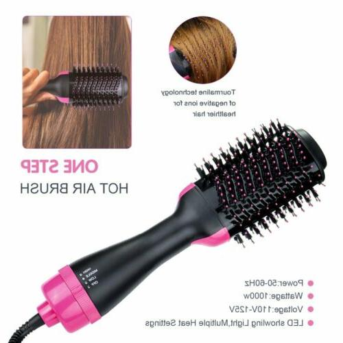 2In1 One Straightening Curling Hot Air Comb