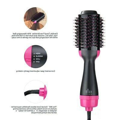 One-Step IN 1 Hair Hot Air Straightener Comb,US PLUG
