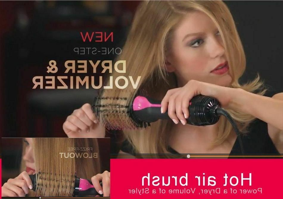 Hair Dryer 2in1 Straightener Air Curling Iron Comb