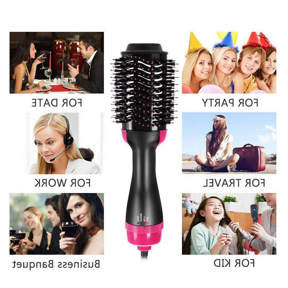 3 1 Air Brush Brush,Electric One Step Hair & Volumizer Brush