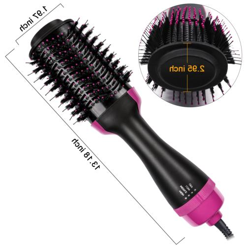 3-in-1 Hot Air Comb Straight Wet/Dry Heat 1000W
