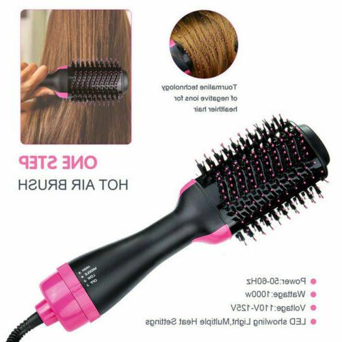 Hot Air Brush Hair Dryer Brush Hair Dryer & Volumizer Styler