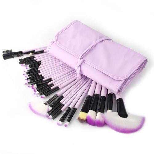 32Pcs Makeup Brushes Set Blusher Cosmetics