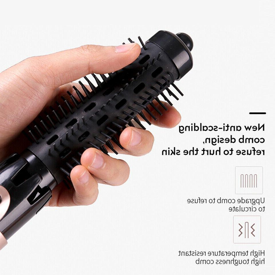 dryer hair straightener iron negative brush Ion