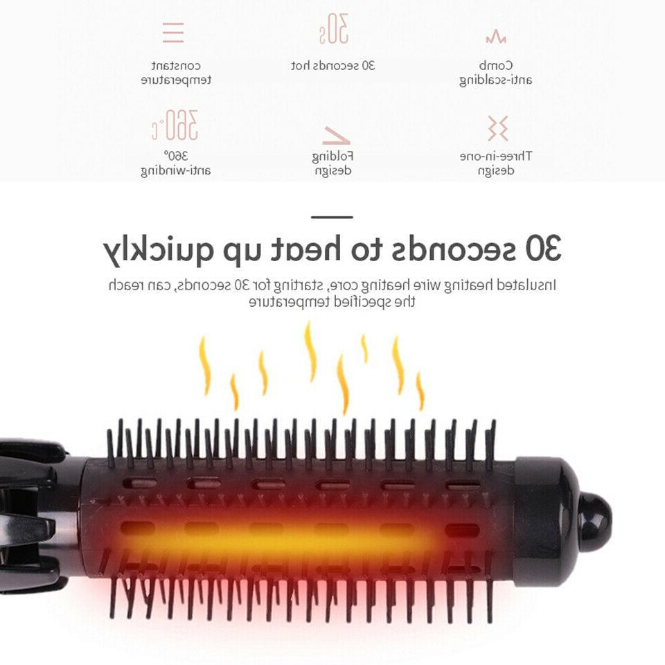 4 in 1 dryer iron negative brush Ion hot comb