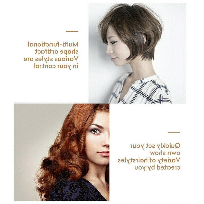 4 Dryer Hair Straightener Iron Negative Iron Hot Air Comb