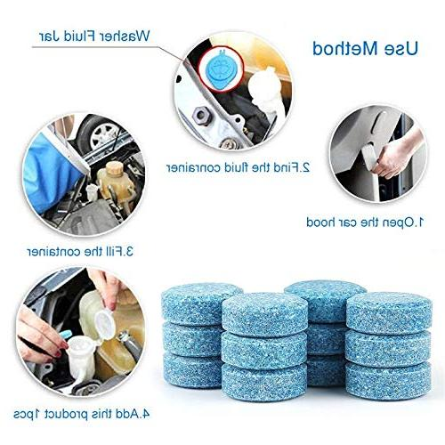 Isali =4L Liplsating Car Accessories Cleaner Solid Car
