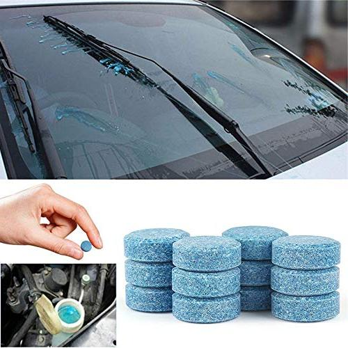 Isali Car Windshield Cleaning Car Accessories Glass Cleaner Car Solid Car Auto Window -