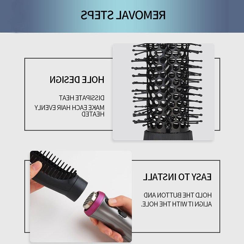 HSIPRO in Multifunction <font><b>Air</b></font> <font><b>Brush</b></font> Negative lonic frizzing <font><b>Hair</b></font>