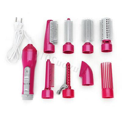 8-in-1 Dryer Air Curle Curler Comb