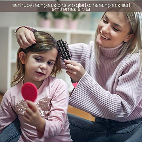 Hair Curler Comb, in 1 Hair Dryer & Negative Hot Hair Blow Dry for Cool Blower Professional Styling