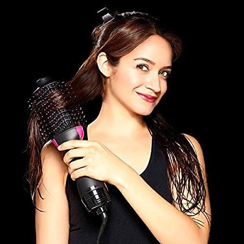 One & Volumizer, Blower Dryer & Volumizing Styler Ion Generator Hair Straightener Brush Curler All Hair Types