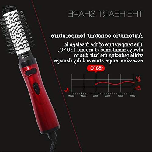Hair Hot Air Multi Brush Straightener Brush Salon-Style Tools