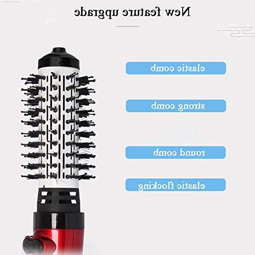 Hair Hot Air Multi Dryer Brush Straightener & Curler Brush Tools