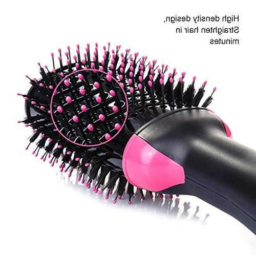 Hot Air Brush Step Styler, Multi-functional Negative Hair & Styling