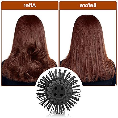 2 Air Brush Gustala Hair and Curler Brush, Hair Styling