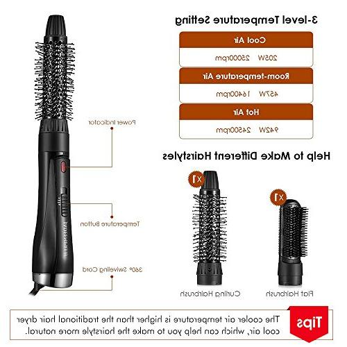 2 1 Hot Air Gustala Hair and Brush, Watts Styling Dryer