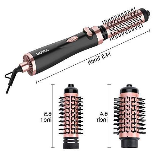 JOYYUM 1000W Hot Air Styling & Auto-rotating Hair 1 AND Brush