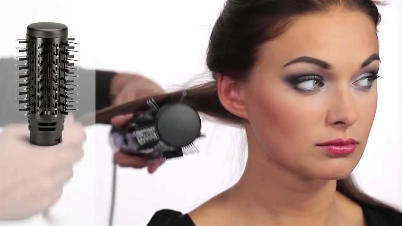 Remington Volume & Curl 1 Hot Styler Brush Curler Set