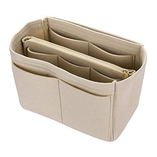 Makeup Cosmetic Cases Felt Bag Organizer Cosmetic Travel Toiletry Bag Handbags Organizer