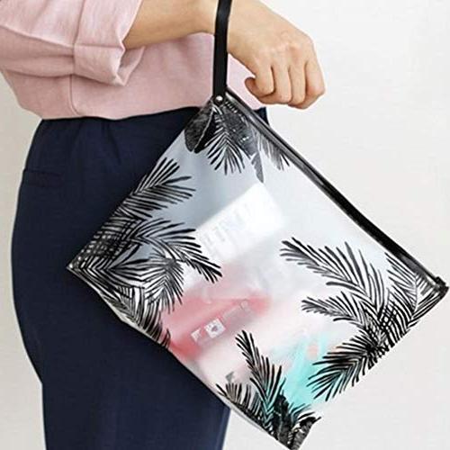 Fashion Women Bags PVC Makeup Organizer Lady Necessary Wash Kit Pouch