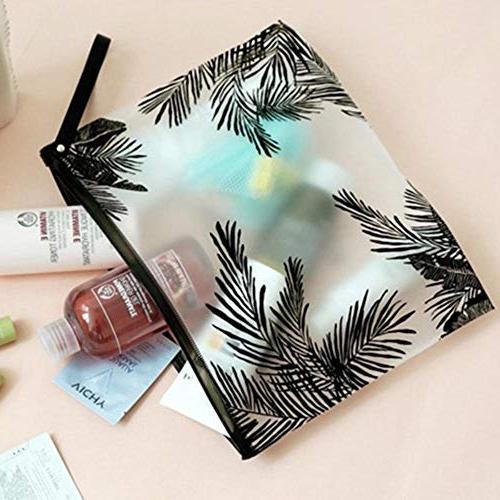 Fashion Travel Cosmetic Bags PVC Makeup Organizer Lady Wash