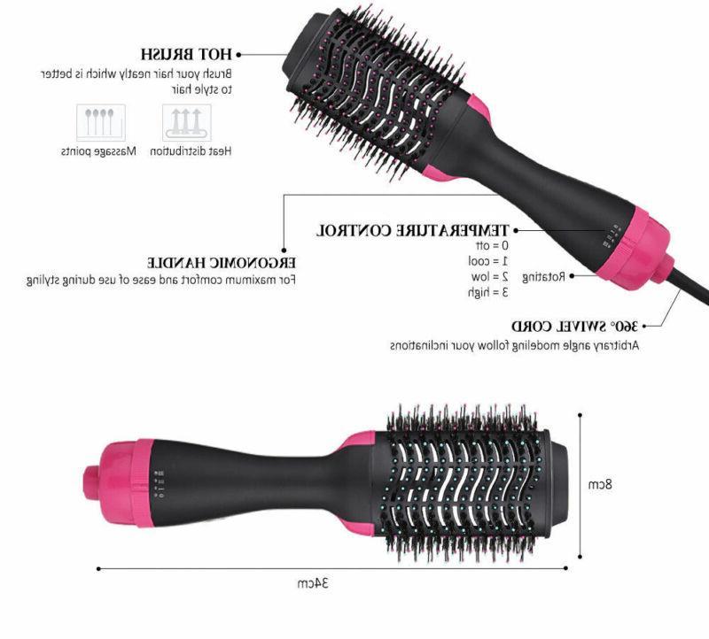 TOP Volumizer Brush Air Comb