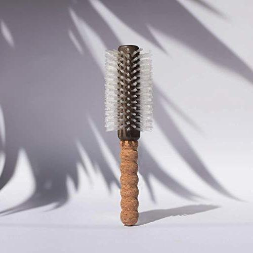 Remilia Hair Dryer Brush | Round Brush For Hot Air | Eco Friendly, Nylon For Curly Or | Adds Volume Tames 2.1 Inch