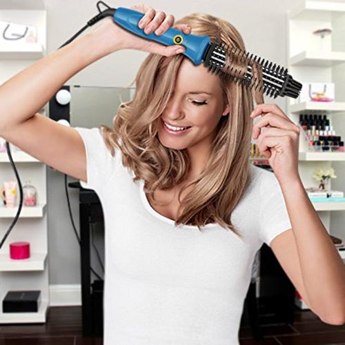 SwanMyst Iron 1 Inch with Bristles, in Ceramic Hot Hair Curling Styling Voltage
