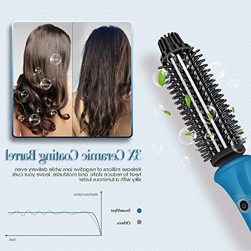 1 Inch with Ceramic Curling Dual