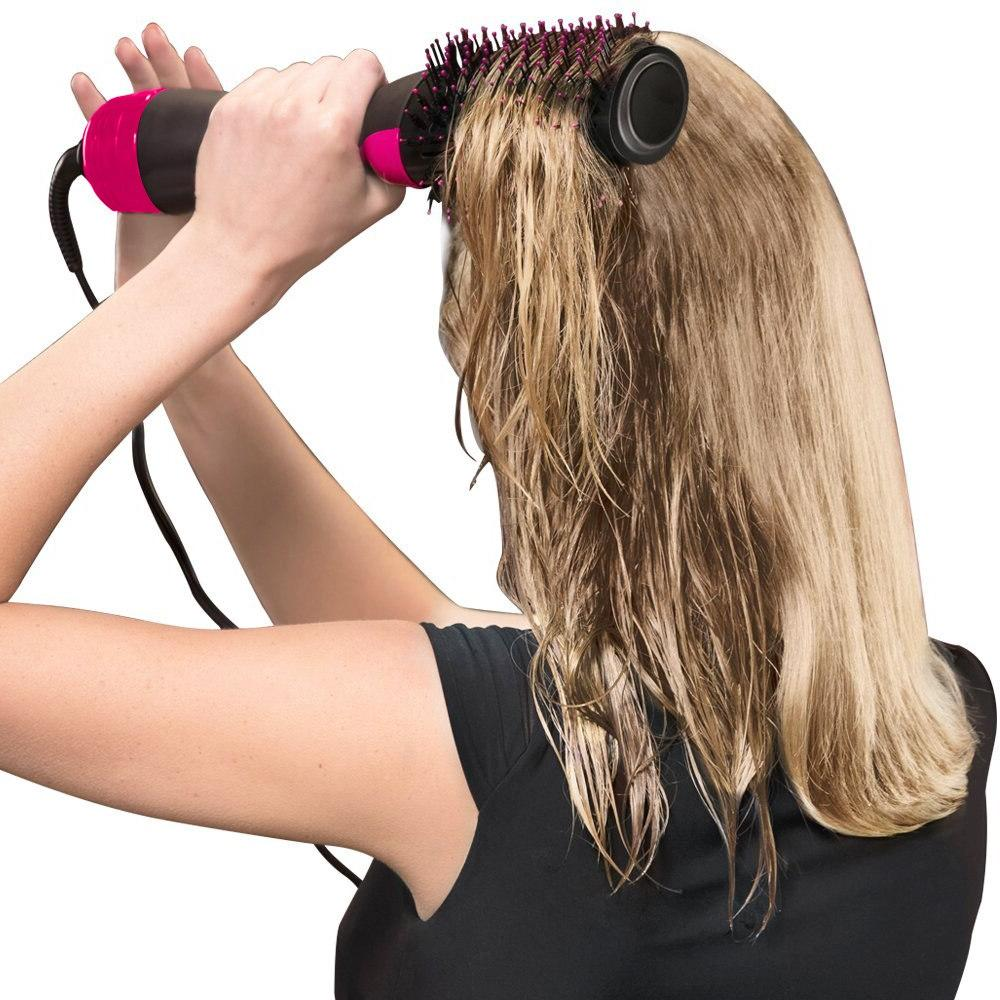 Lisapro Dropshipping IN 1 <font><b>Dryer</b></font> Hot Brush brush <font><b>hair</b></font> styling