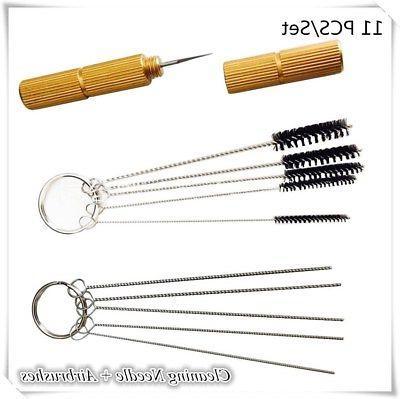 Airbrush Nozzle Brush+ Needle tool