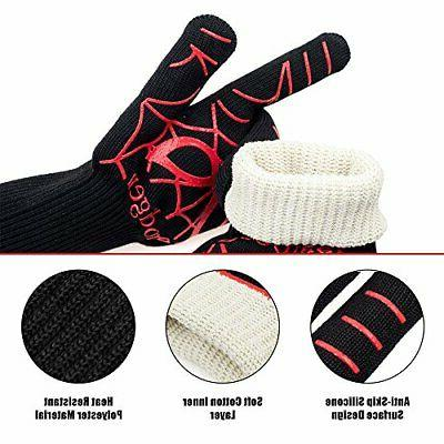 Extreme Heat Oven BBQ Mitts PACK