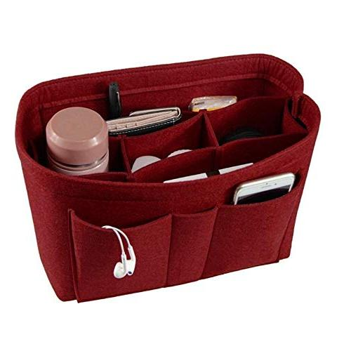 Felt Makeup Insert Insert Multi-functional Cosmetic Bag Girl Toiletry Storage Bags