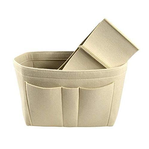 felt bag insert handbag