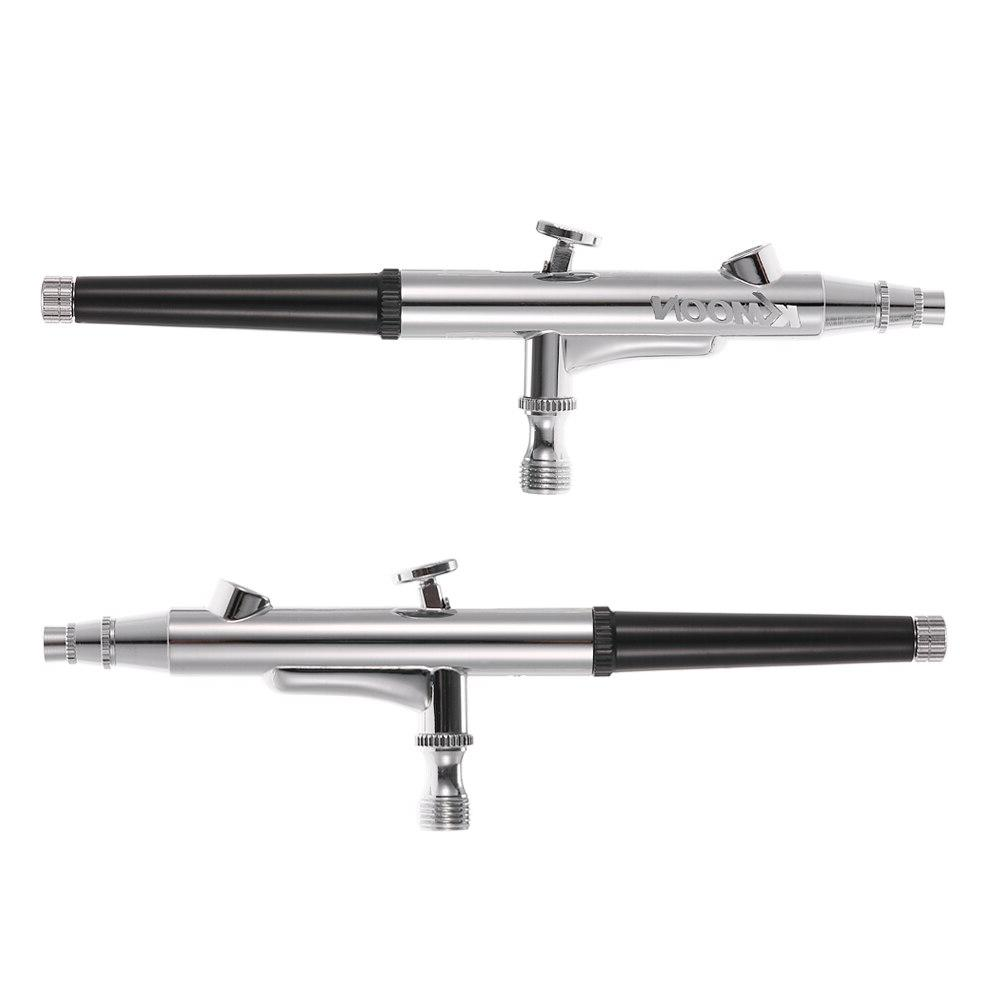 KKMOON Feed Double Airbrush for Up Manicure <font><b>Air</b></font> <font><b>Brush</b></font> 0.3mm