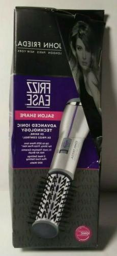 John Frieda Frizz Ease Hot Air Brush 1 inch Barrel Salon Sha