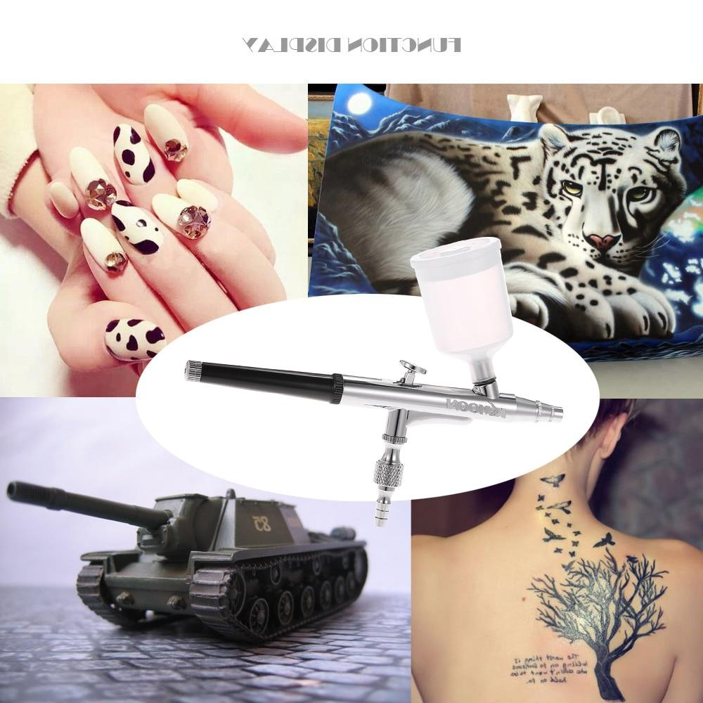 KKmoon Feed Action Airbrush Decoration Making Manicure Nail Tool