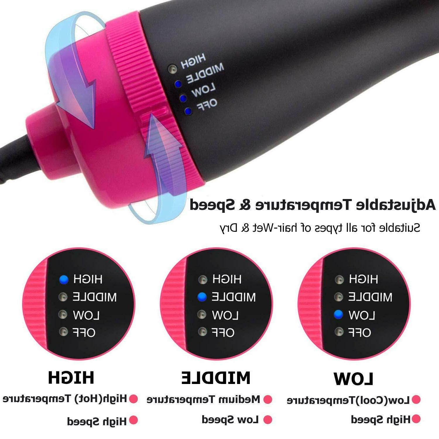 Hot Hair Negative Ion Styling Blower Curling