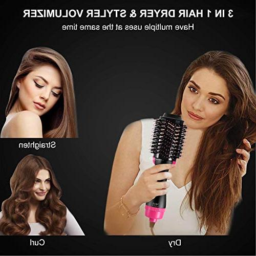 Hair Dryer Dry Straighten Curl in One Hair Smooth Frizz with Technology