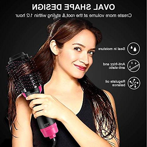 Hair Dryer Dry & Curl in One Hair Smooth Technology