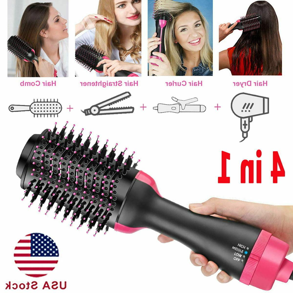 hair dryer hot air brush negative ion