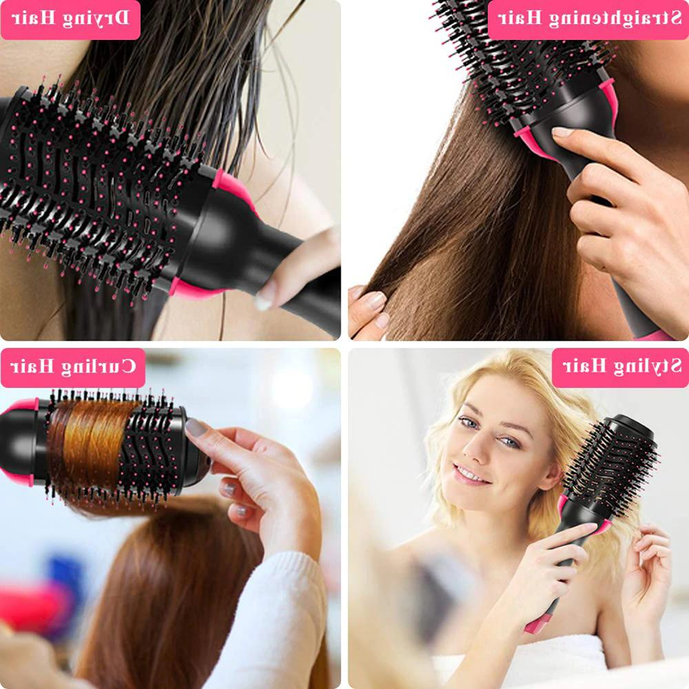 Hair Dryer Brush Air Revlon Iron