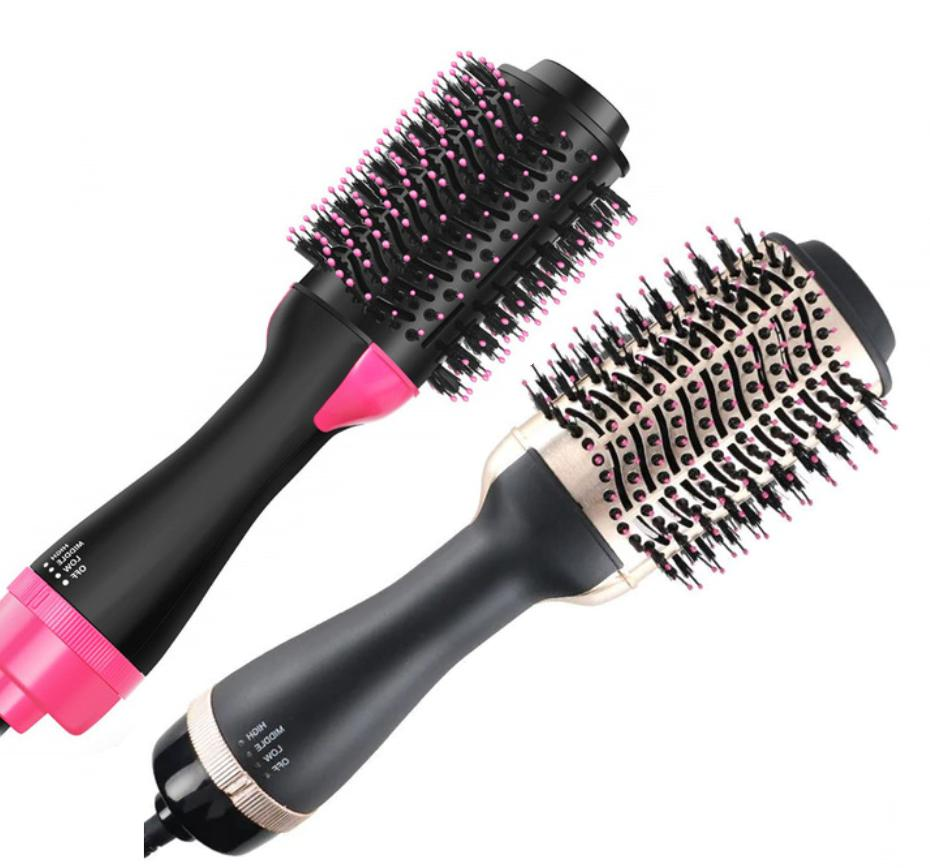 hair dryer one step brush hot air