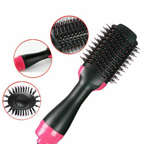 Hair Dryer Step Straightener Volumizer Hot Brush Brush