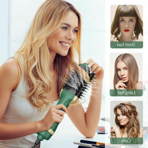 Hair One Straightener Volumizer Hot Brush Iron Brush