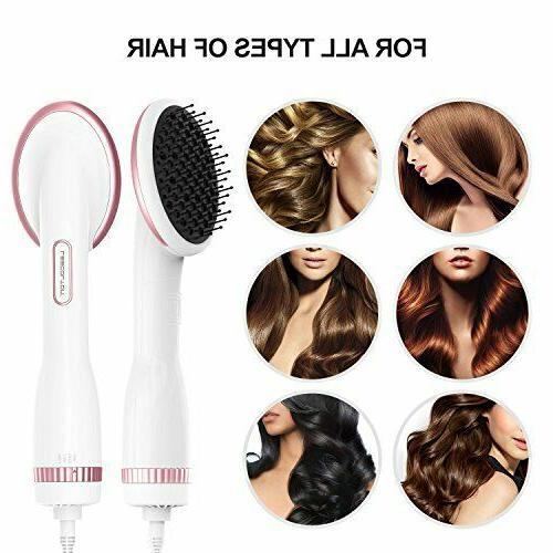 Hair For All Hot Air Paddle Brush White