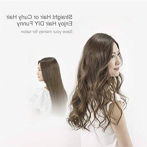 Hair Hot-Air Hair Dryers and Straightener in 1 Hair DIY use